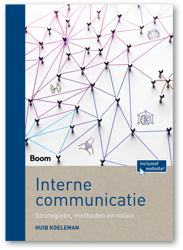 boek cover interne communicatie